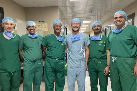 David Wright (PGY4) travels to Ganga Hospital